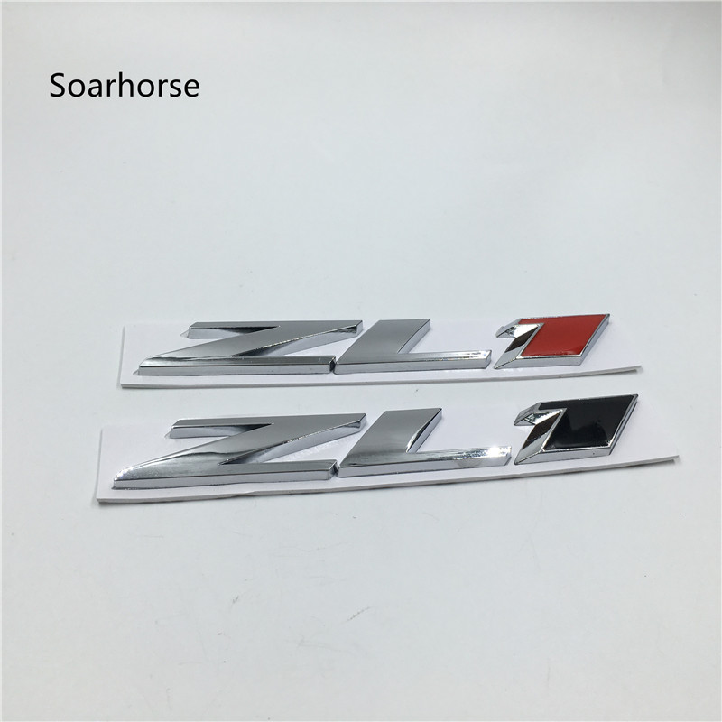 US $7 42 6% OFF|Soarhorse For Chevy Chevrolet CAMARO ZL1 Emblem Rear Trunk  Logo Nameplate Metal Sticker-in Car Stickers from Automobiles & Motorcycles