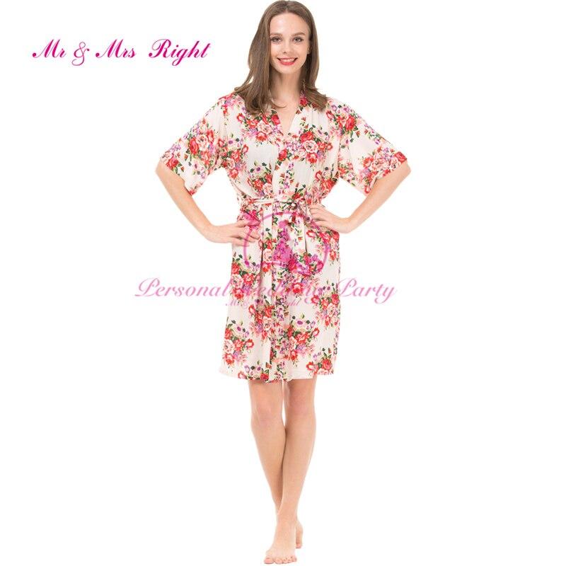 435fc4b351 2016 New Fashion 4 Colors Women Floral Robes Cotton Pajamas For Pregnant  Women Maternity Bathrobes Nursing