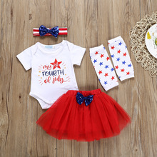 kids sets 4th of july outfit girls summer outfits 2019 toddler clothes boutique kid clothing fashion cartoon pullover shorts
