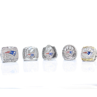 New England Patriots Super Bowl 2001 2003 2004 2014 2016 Tom Brady New Arrival Championship Ring