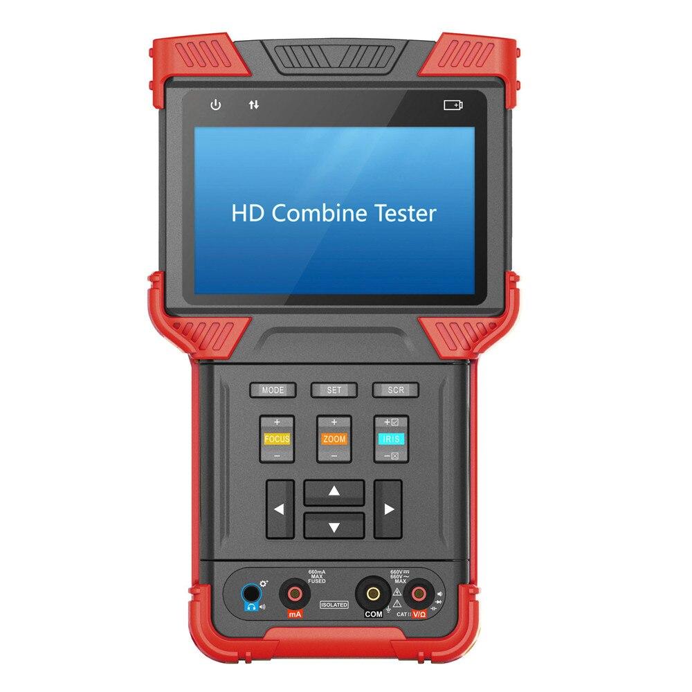 DT-T73 testador de CFTV IP Câmera monitor de Combinar Punho Suporte Testador Analógico/3.0CVI/TVI/DMM AC100-240V DS Tela