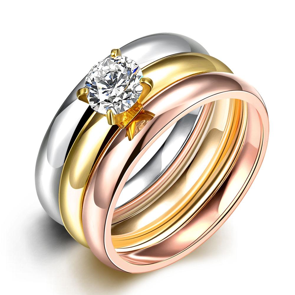 R030-A-8 Fashion titanium steel ring