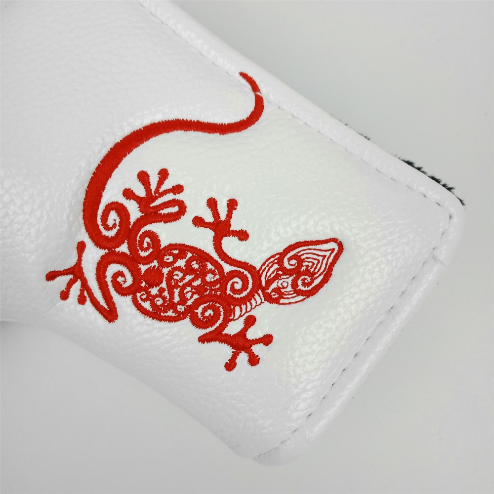 Mazel Embroidered Headcovers Blade Golf Putter Club Head Cover