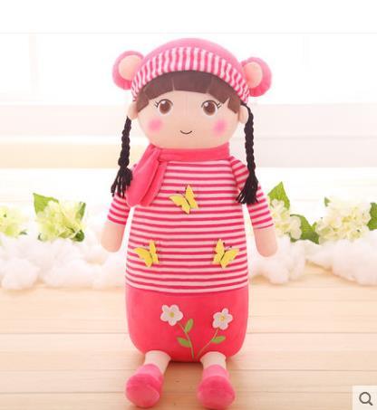 Cartoon toys Humanoid doll plush toys lw