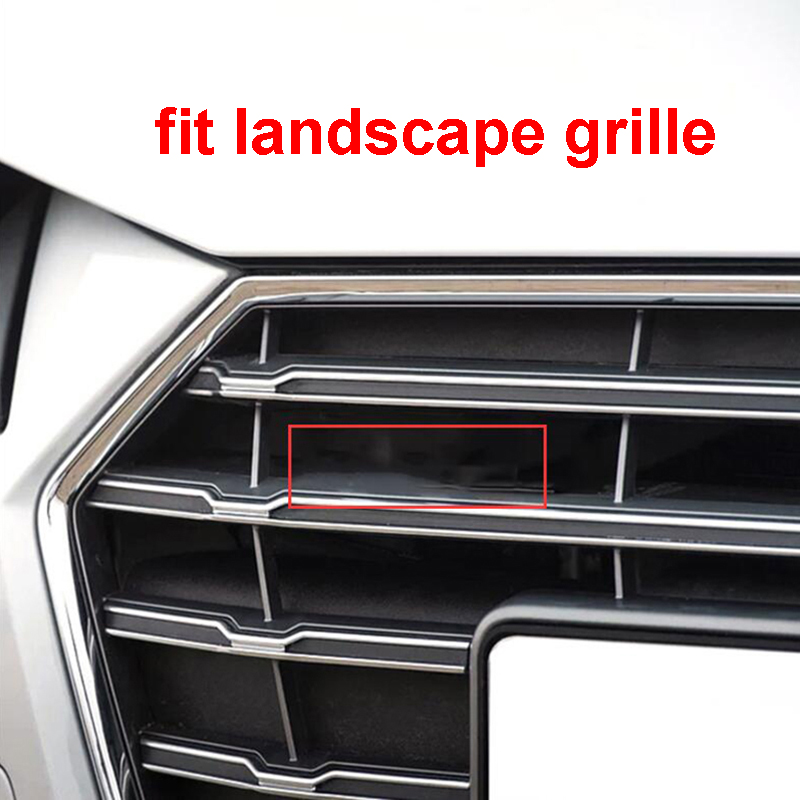 Black License Plate Frame S LINE Audi S3 S4 S5 S6 S7 S8 RS3 RS4 RS5 RS6 RS7 RS8