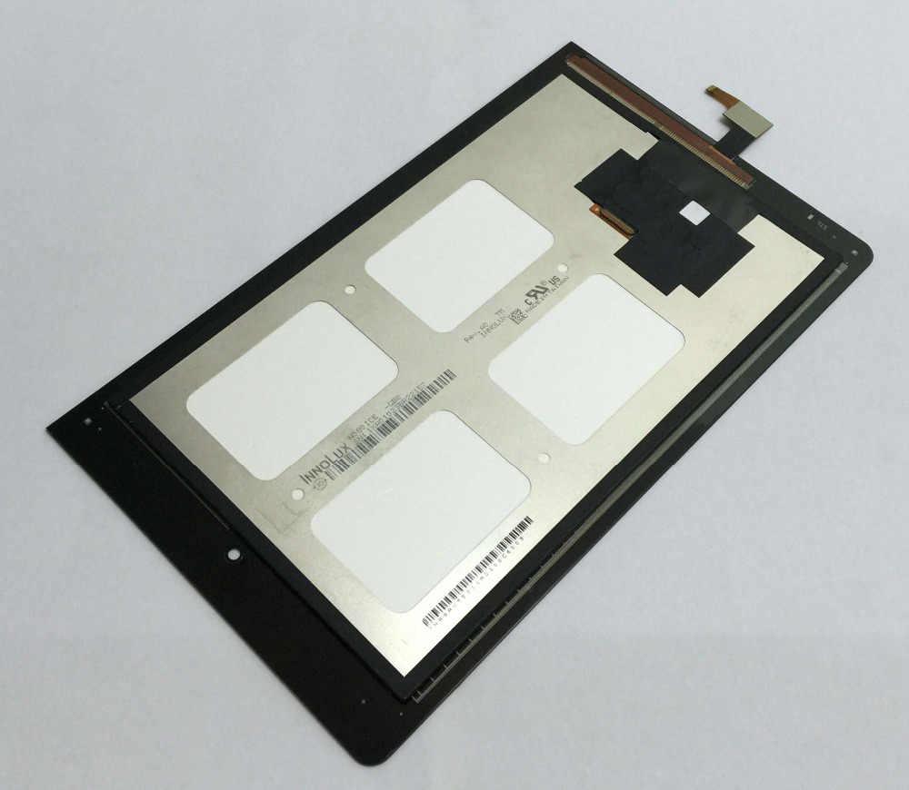 Pantalla táctil digitalizador Sensor cristal + pantalla LCD Monitor montaje con marco plateado para Lenovo Yoga Tablet 8 B6000 60044