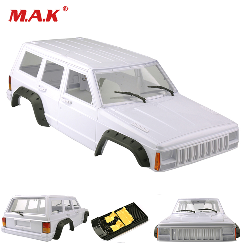 RC Car Parts 1/10 Scale Rock Crawler Body Xtra Speed D90 Hard Plastic Body Shell Interiors System Kit 4WD Accessory