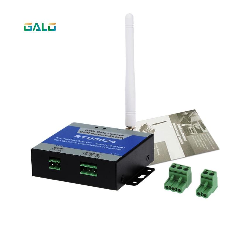 RTU5024 GSM Garage Swing Sliding GSM Gate Opener Relay Switch Remote Access Control Wireless Door Opener Free Call SMSRTU5024 GSM Garage Swing Sliding GSM Gate Opener Relay Switch Remote Access Control Wireless Door Opener Free Call SMS