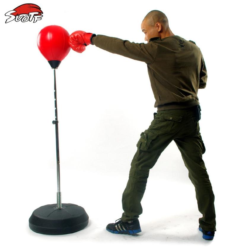 SUOTF Adulte remise en forme de boxe poire sport sac de boxe arts martiaux fournitures balle de boxe sac de boxe équipement d'exercice