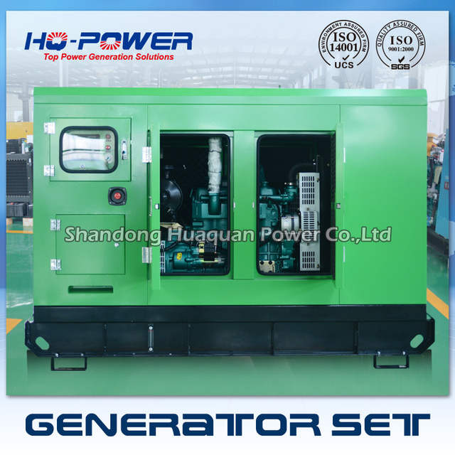 30kw yuchai silence canopy used small diesel generators