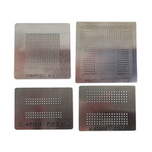 4 Pieces PS4 Stencils Solder Ball Steel Template For PS4 Game Console BGA IC Reballing Repairing 9in1 bga reballing stencil template for bga136 bga152 bga272 bga63 bga132 bga100 bga316 lga60 lga50