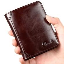 High Quality Genuine Leather Men Wallets Card Holder