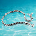 Fashion man 925 sterling silver link chain bracelet new arrival bracelet for man ,silver ornament, thick 3.5 mm 20cm