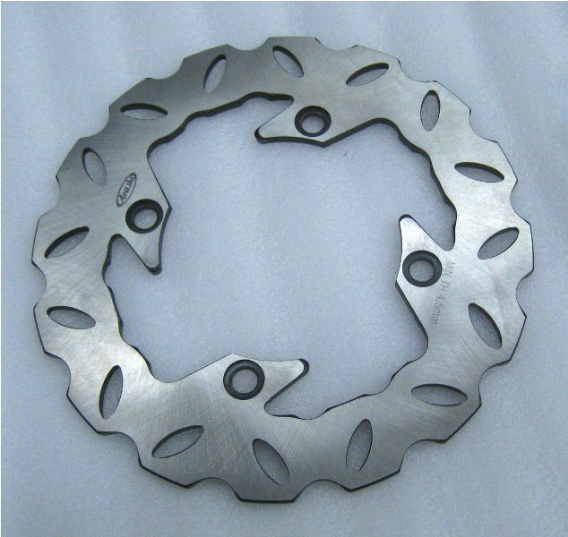 ФОТО Wholesale Motorcycle Rear Brake Disc Rotor for Honda CBR 600 F2 F3 F4 F4I SV 250  drop ship C30
