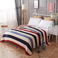 Bettwäsche bettdecke decke 120x200 cm Hoher Dichte Super Weich Flanell Decke zu auf für die sofa/Bett /auto Tragbare Plaids