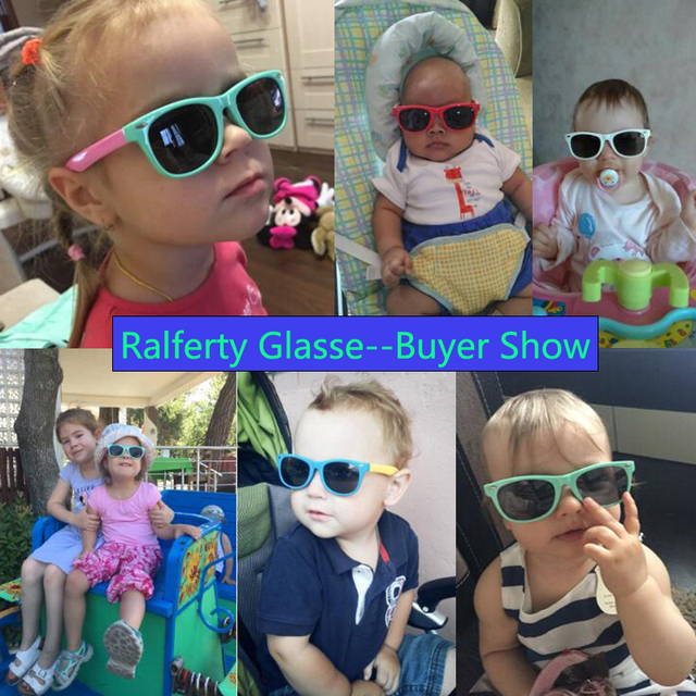 Flexible Kids Sunglasses Polarized Child Baby Safety Sun Glasses UV400 Eyewear Shades