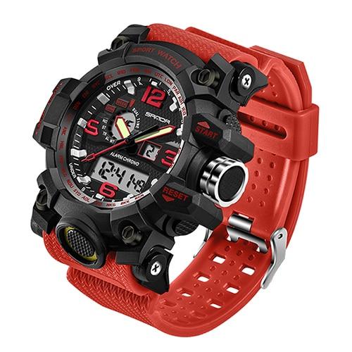 SANDA 742 Military Men's Watches Top Brand Luxury Waterproof Sport Watch Men S Shock Quartz Watches Clock Relogio Masculino 2019