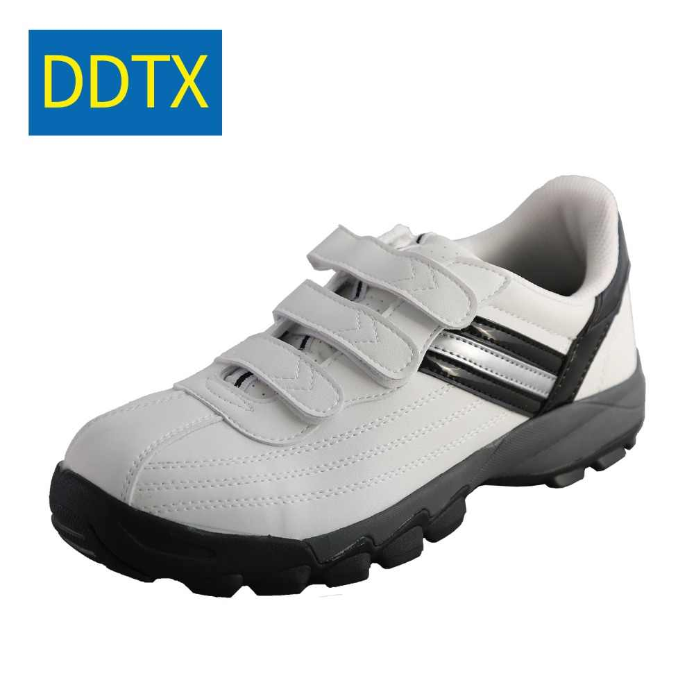 3ba6b26957b3 DDTX Unisex Steel Toe Cap Work Safety Shoes Magic Tape White Outdoor  Footwear Comfortable Work Shoes