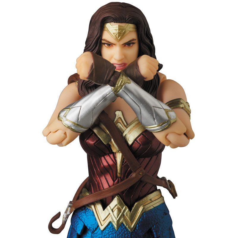 Justice League Mafex Batman Maf 056 Flash 058 Wonder Woman 048 Superman 057 Spiderman 047 Action Figure Toy Doll (13)