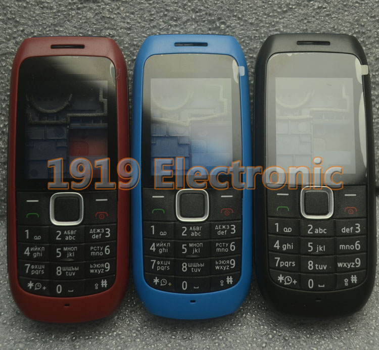 Case Tracking Russian-Keypad Full-Phone Nokia Housing-Cover New with English Or 1616--Tools