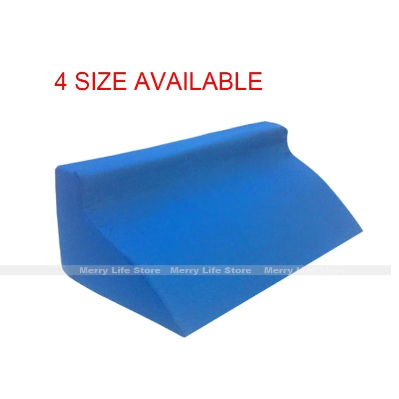 foam lumbar back support cushion ergonomic wedge side sleep body pillow recliner bed rest aid disabled bedridden patient care