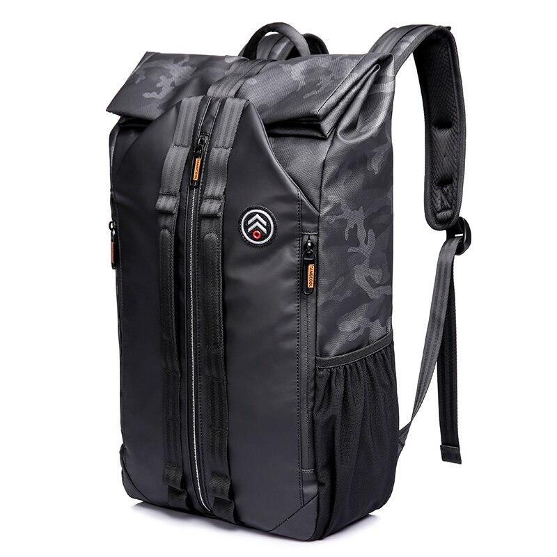 TANGCOOL hommes mode sac à dos 15.6 'sac à dos pour ordinateur portable sac à dos étanche quotidien école sac à dos pour collège étudiant - 2