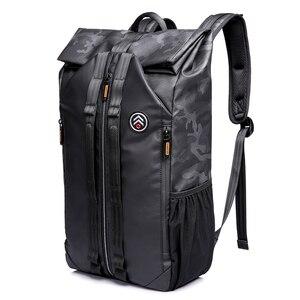 Image 2 - Tangcool 남자 패션 배낭 15.6 노트북 배낭 가방 방수 배낭 대학생을위한 일일 학교 배낭