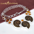 HIgh quality - Wide varieties Cute Animal Nice Ammonite Nacklaces Silver Plated Fashion Chain