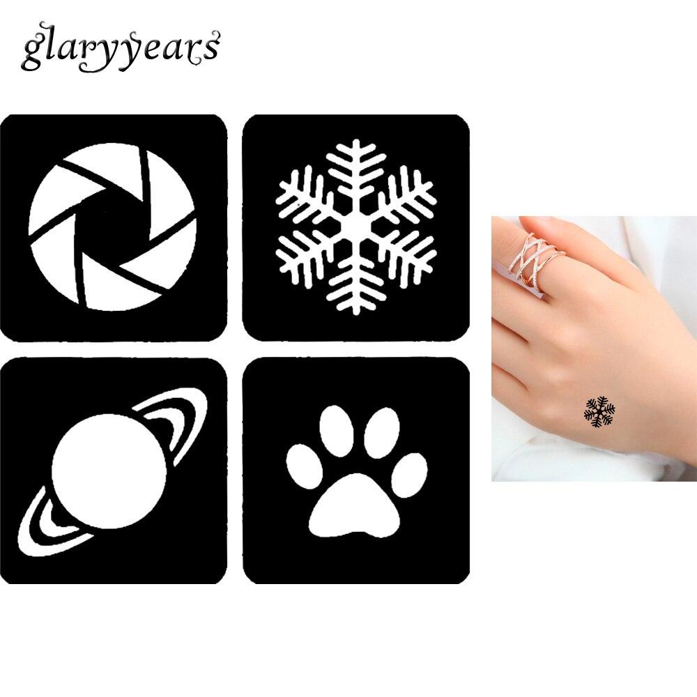 Small Snowflake Stencil Free Small Snowflake