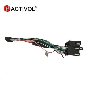 2 din Car Radio ISO Plug Power Adapter Wiring Harness for KIA Forte sportage Hyundai Tucson ISO power harness For car dvd player turbo cartridge chra core gtb1649v 757886 757886 5003s 28231 27400 757886 0003 for hyundai tucson for kia sportage ii d4ea 2 0l