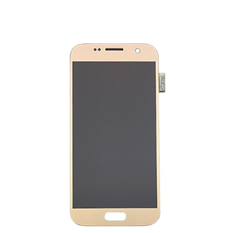 5.1 ''SUPER AMOLED remplacement LCD pas de cadre pour SAMSUNG Galaxy S7 affichage G930 G930F écran tactile numériseur - 4