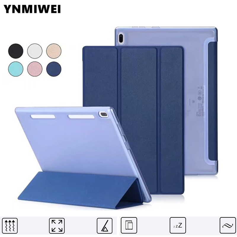 For Lenovo TAB4 10 Smart Cover Case for Lenovo TAB4 10 TB-X304L TB-X304F TB-X304N Folding Stand Tablet Case Soft Shell+Film