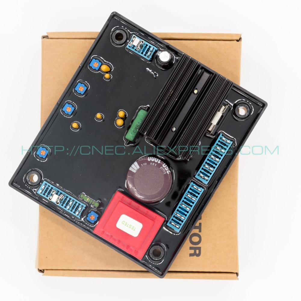 5PCS avr R438 automatic voltage regulator generador AVR R438 high quality brushless alternator spare part automatic voltage regulator generator avr r438