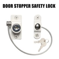 Baby Safety Locks Window Door Cable Restrictor Ventilator 2pcs Child Safety Security Locking Keyed Opening Restrictor