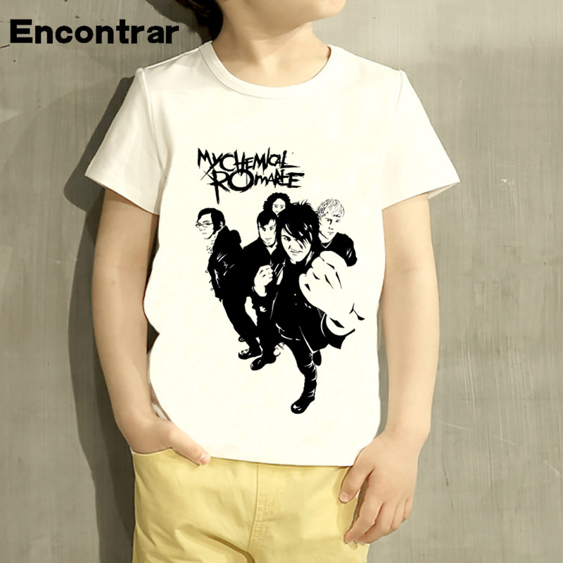 Kids My Chemical Romance Design Baby Boys/Girl TShirt Kids Funny Short Sleeve Tops Children Cute T-Shirt,HKP4076