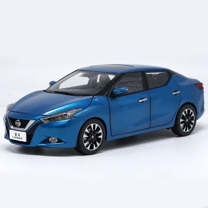 1:18 Alloy Toy NISSAN LANNIA Car Model Of Children's Toy Cars Original Authorized Authentic Kids Toys autoart 1 18 nissan alto skyline nismo s1 alloy model car