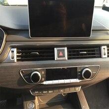 WELKINRY для Audi A4 B9/8 W консоль с передней головкой Кондиционер открытый переключатель регулировки ручка отделка