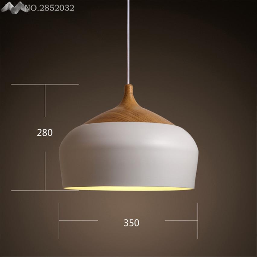 Pendant Lights Temperate Jw Modern Vintage Suspension Luminaire Loft Pendant Light Lamparas De Techo Lamp Industrial Light Fixtures Wood Lampshade Abajur Evident Effect