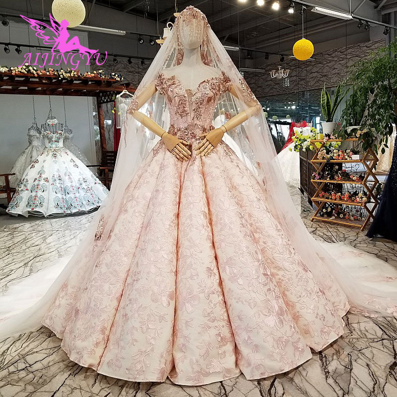 AIJINGYU Petite Wedding Dress Gowns Chile Sexy Bride Korean Uk Affordable Stores Buy Gown Turkey Bridal Dresses - 3