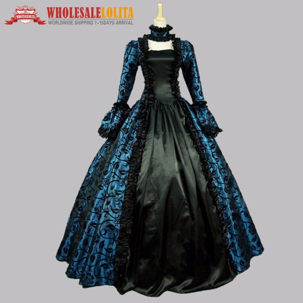13610043d296 Di Vendita superiore Da Sposa in Stile Vittoriano Partito Periodo Georgiano  Vestito Ball Gown Rievocazione Del Partito Della Fase del Vestito Abiti ...