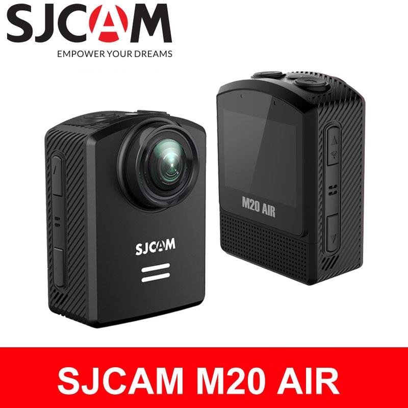 цена на SJCAM M20 AIR Action Camera WiFi 1080P 30m Waterproof NTK96658 12MP Original 1.5 LCD Screen mini Helmet Video Camera Sports DV