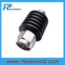 5Watt coaxial attenuator N JK 1db,2db,3db.5db,6db.10db.15db.20db.30db,40db,50dB 3GHz 4GHz 50ohm fixed attenuator