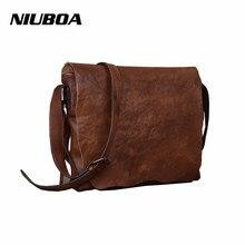NIUBOA Women's Shoulder Bags Genuine Leather Vintage Single Shoulder Bags Hot Sale Women Crossbody Bags Handbags For Ladies