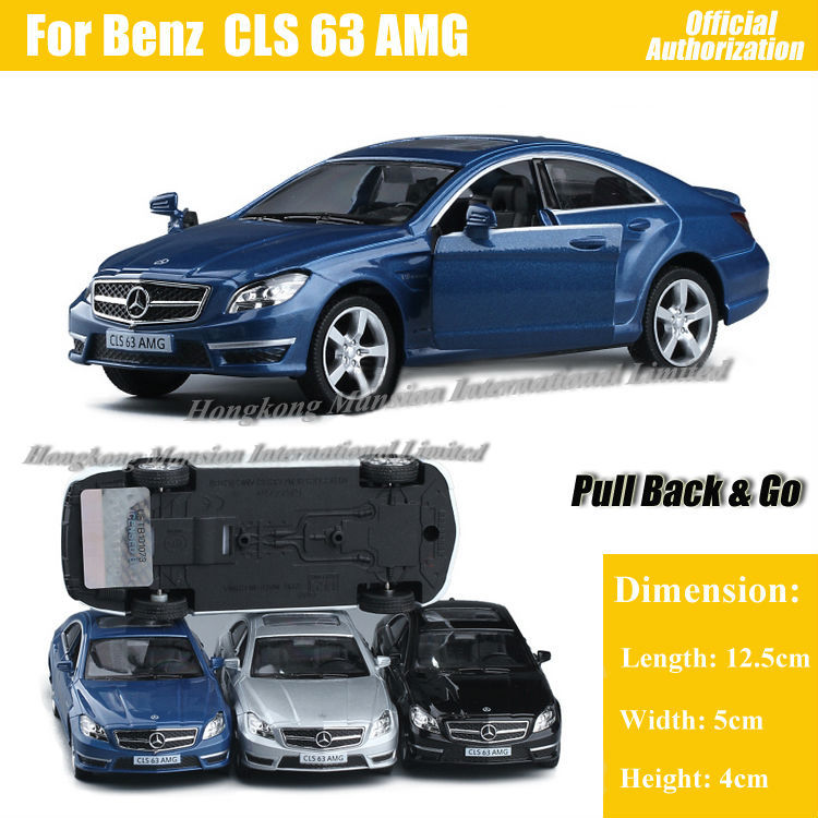 1:36 Scale Diecast Alloy Metal Sports Car Model For Benz CLS 63 ...