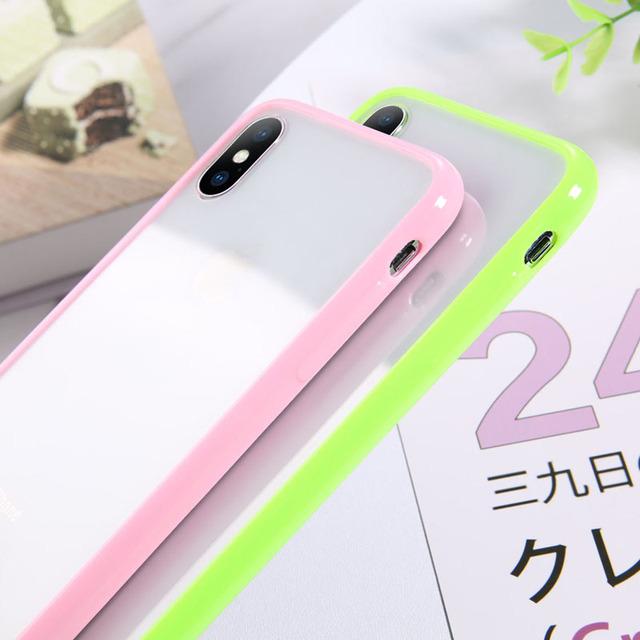 Transparent Shockproof Phone Case