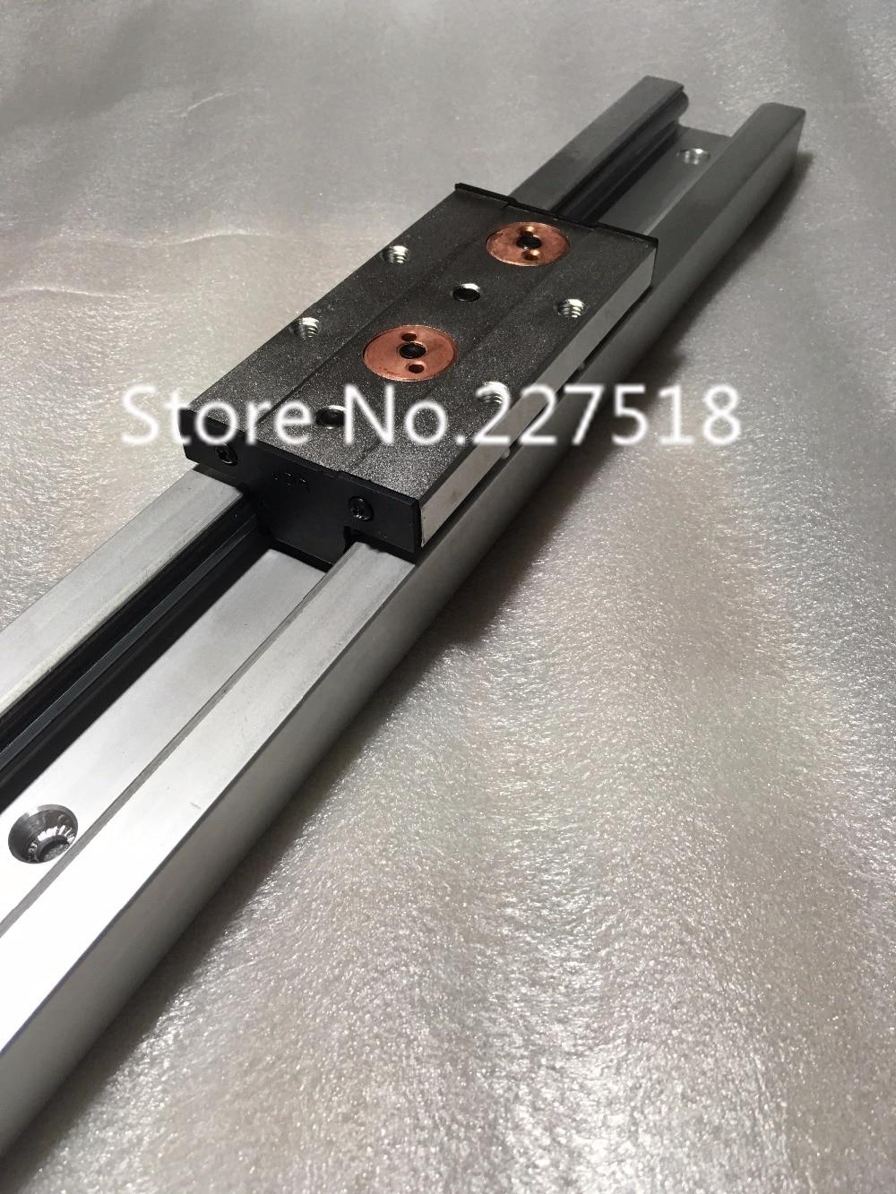 ФОТО 1pcs SGR20 L450mm +1pcs SGB20UU block multi axis core linear Motion slide rail auminum guide