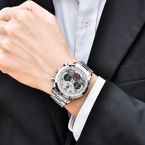 Image 3 - Relojes 2018 BENYAR Watch Men Fashion Sport Quartz Mens Watches Top Brand Luxury Business Waterproof Watch Relogio Masculino