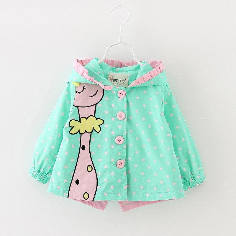 Детская одежда с капюшоном куртки девушки характер пальто дети мода куртки 2016 детская одежда