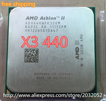 AMD Athlon II X3 440 processor 3.0GHz/1.5MB L2 Cache /Socket AM3(working 100% Free Shipping)