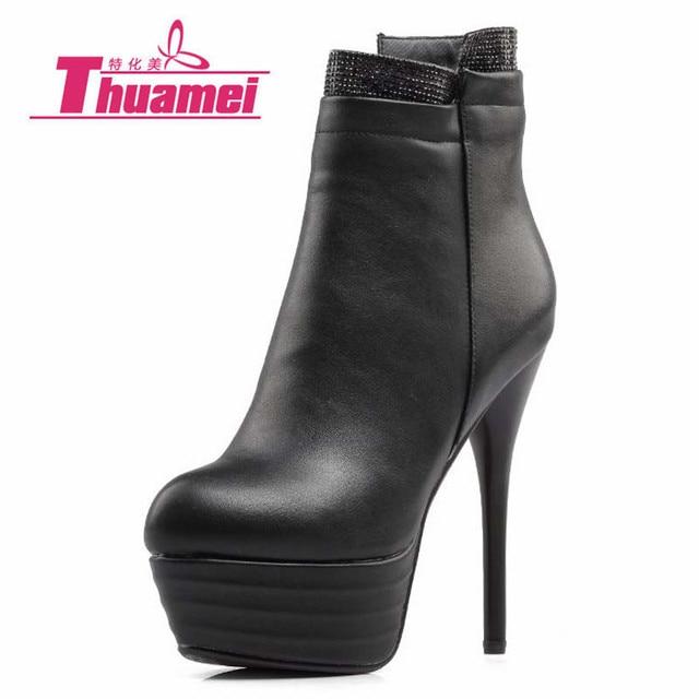 botas invierno alto alto alto cómodo zapatos de tacón mujer cuña 9 cm beige 738 16ff53